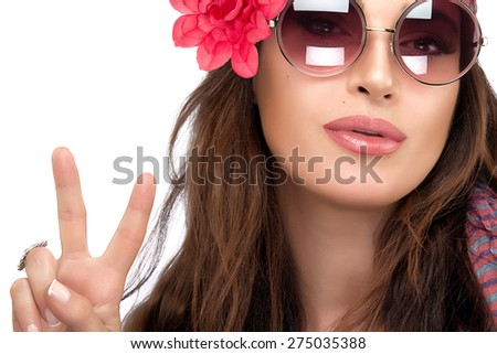 39a081670c Close Pretty Young Fashionable Woman Stylish Stock Photo (Edit Now ...