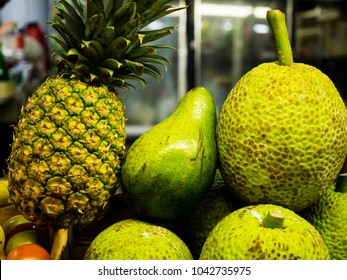 Close Up of Produce at Mayaguez , Puerto Rico Farmers Market