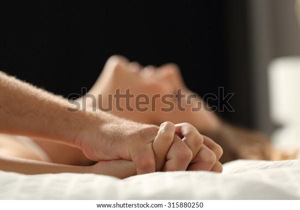 Photo De Stock De Profil D Un Couple Faisant L Amour A Modifier