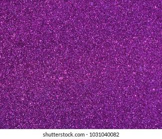 Close up purple glitter Christmas background