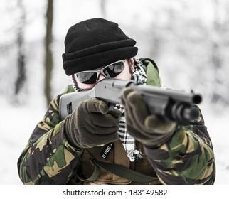 Close range combat