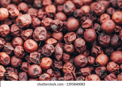 Close Up of Red dried jujube. Ziziphus mauritiana, also known as Chinese date, ber, Chinee apple, jujube, Indian plum, Regi pandu, Indian jujube, dunks (in Barbados) and masau