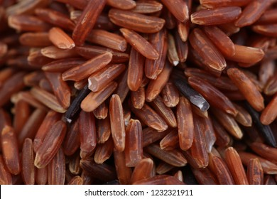 close up rice berry