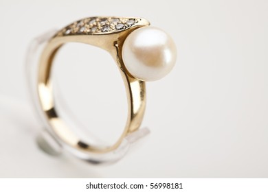 Close up of ring