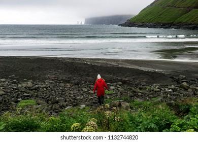 Close to Risin and Kellingin on Eysturoy the Second biggest Island of the Faroe Islands.