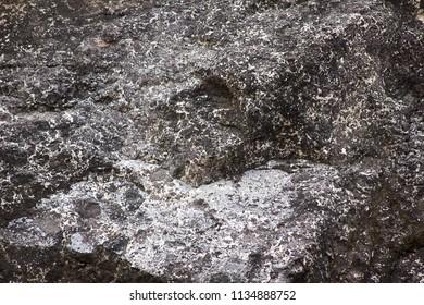close up of rock mountain