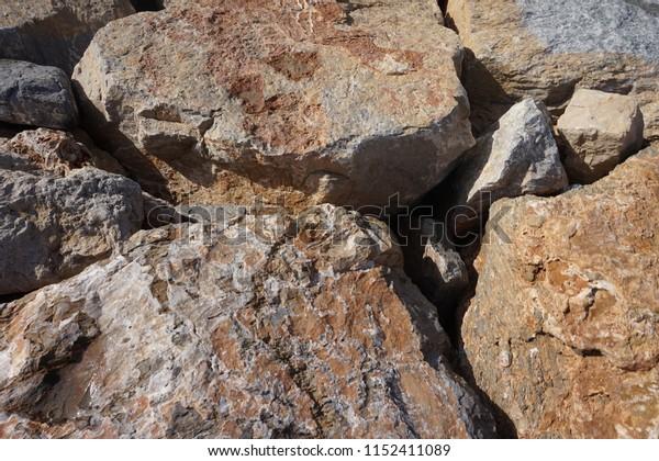 Close up rocks