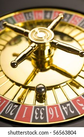 Close up of Roulette