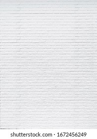 Close up rustic white brick wall texture background