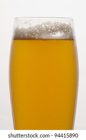 Close up of Saison Beer