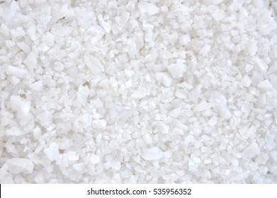 Close up of salt background. Natural salt