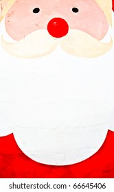 Close Up of Santa Face