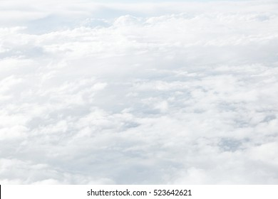 close up of the sea of clouds