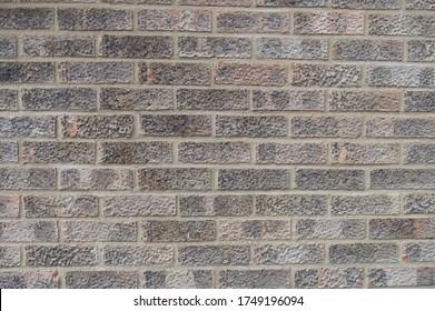 Close up shot of a brick wall texture