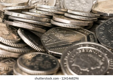 Close up shot of coins