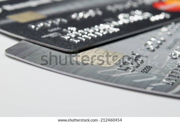 Close Up shot with Credit card