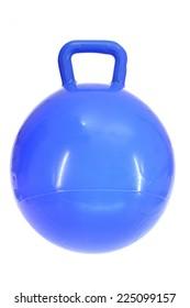 A close up shot of a hopper ball
