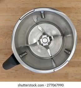 A close up shot of a kitchen blender