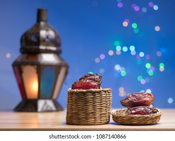 close up shot on dates, sweet dried fruits on wooden background,  vegetable for diet with nutrition ingredient concept.