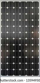 Close up shot of photovoltaic solar panel