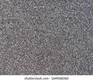 Close up shot of sand on a beach