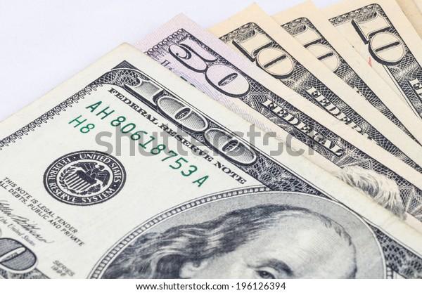 close up shot of US dollar bill