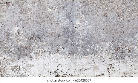 close up shot of an very old white wall surface texture background in Full HD ratio