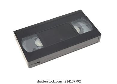 A close up shot of a video cassette