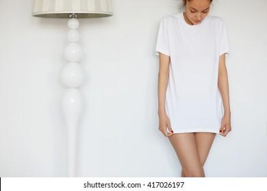 28ef24158 Boyfriend Shirt Images, Stock Photos & Vectors   Shutterstock