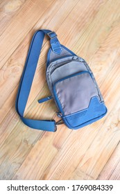 Close up shoulder bags on the board