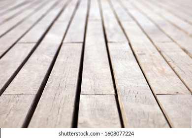 Close up slat floor natural lines arranged background texture, Pattern plank ,wallpaper, Brown background
