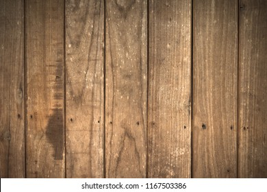 Close up soft wood table floor with natural pattern texture. Empty template  wood board can be used as background for display or montage your top view products.