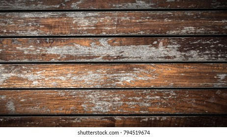 Close Up Soft Wood Table Floor With Natural Pattern Texture Empty