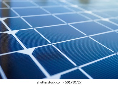 close up solar cell panel