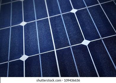 Close up of Solar Panel.