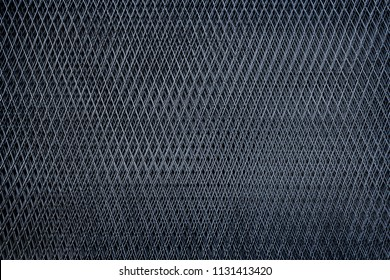 close up steel net in daimond shape for texture background