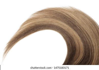 close up of straight brown mixed auburn tape in remy human hair extensions