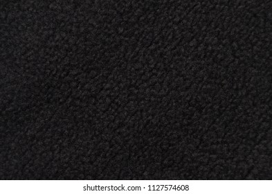Close up of synthetical fur textured background