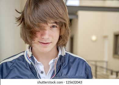 Long Haired Teenage Boy Images Stock Photos Vectors Shutterstock