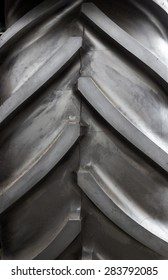 close up texture of tractor tire/ tyre