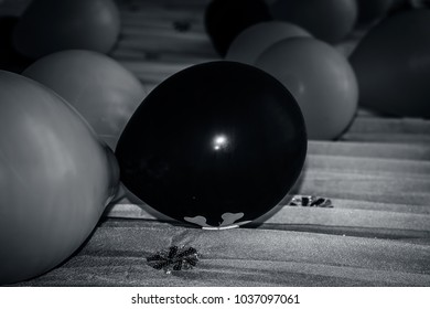E Black Balloon Images Stock Photos Vectors
