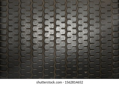 Close up of Tire tread pattern as desktop background