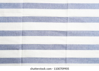 close up towel striped cloth set isolated on white background