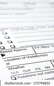 Speeding Ticket Images, Stock Photos & Vectors | Shutterstock
