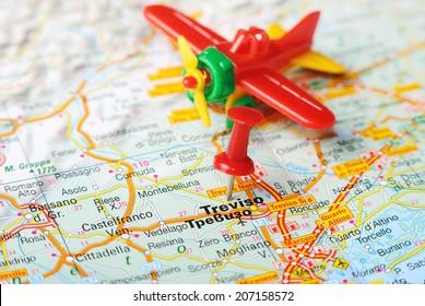 Treviso Map Stock Images RoyaltyFree Images Vectors Shutterstock