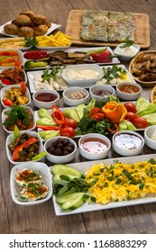 Close up turkish breakfast