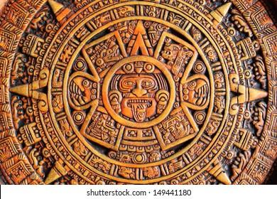 Calendario Azteca Imágenes Fotos Y Vectores De Stock Shutterstock