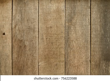 Close view of dark wooden planks