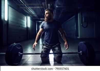 Gym in garage images stock photos & vectors shutterstock