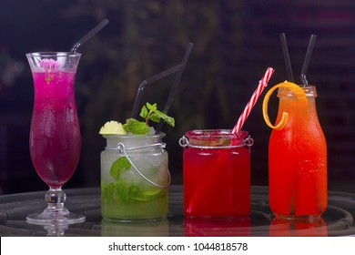 Close view of Mocktail, Pune India